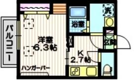 Haus1319N2階Fの間取り画像
