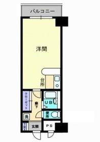 グレースタワー2階Fの間取り画像