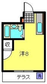 第2マルトハウス2階Fの間取り画像