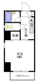 メインステージ新中野駅前9階Fの間取り画像