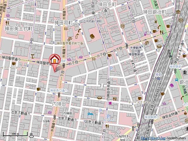 東京ロイヤルプラザ案内図