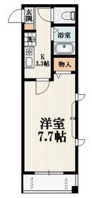 ブランシュ・メゾン2階Fの間取り画像