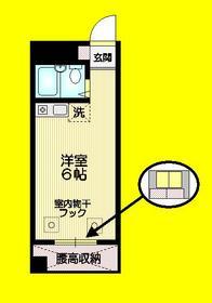 ヴィラウィステリア3階Fの間取り画像