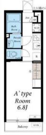 リブリ・つばき川崎3階Fの間取り画像