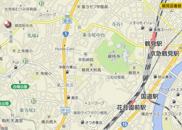 近藤荘案内図