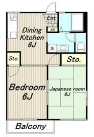 レジデンス戸井田1階Fの間取り画像
