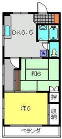 元住吉駅 徒歩8分3階Fの間取り画像