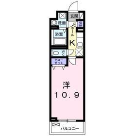 豊田駅 徒歩26分4階Fの間取り画像