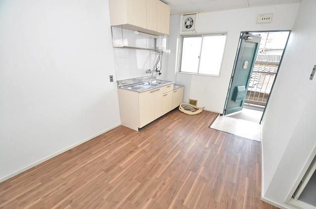 グリーンハイツ竜田 明るいお部屋はゆったりとしていて、心地よい空間です