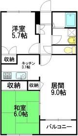 パーチェ東高円寺1階Fの間取り画像