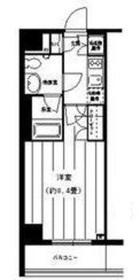 PORTO PARTIRE YOKOHAMA2階Fの間取り画像
