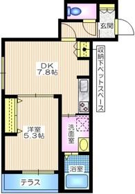 ミヨ グランデ1階Fの間取り画像