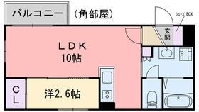 アクア波多江駅前3階Fの間取り画像
