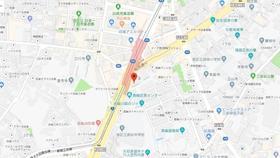 白金高輪駅 徒歩1分案内図