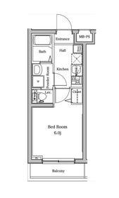 ラフィスタ宮崎台2階Fの間取り画像