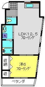 クレストフォルム日吉2階Fの間取り画像