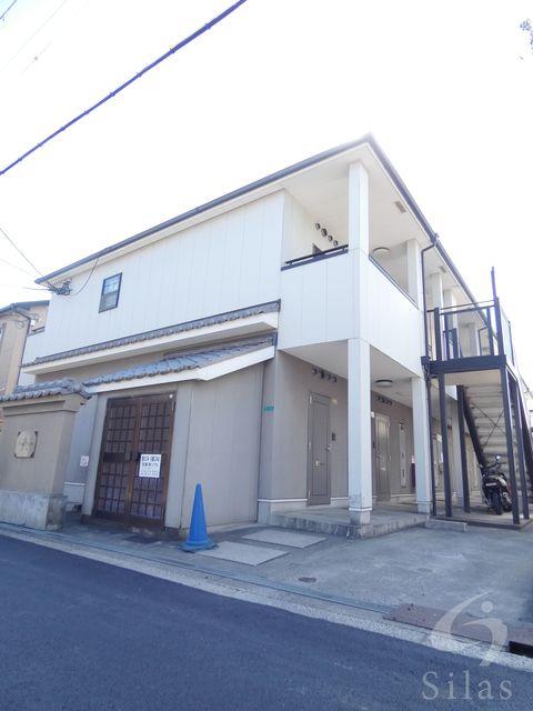 大阪市平野区平野本町1丁目の賃貸アパートの外観