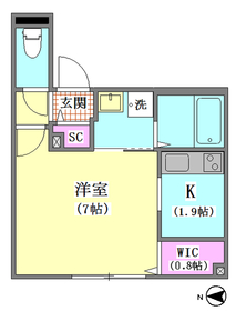 アプローズ 202号室