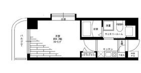 グリフィン横浜・桜木町10階Fの間取り画像