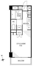 シャトーミニョン3階Fの間取り画像