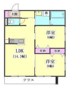 ロイズ ブルー 101号室