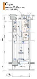 メインステージ横浜9階Fの間取り画像