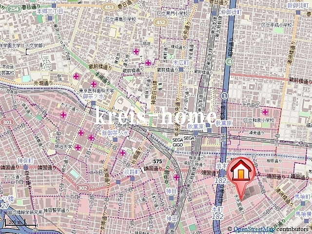 ブライズ神田岩本町案内図