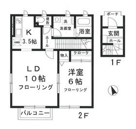 ソフィア田無2階Fの間取り画像
