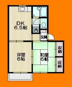 メゾン・ド・ジロー2階Fの間取り画像