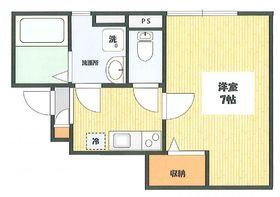 エスパス ラフィネ1階Fの間取り画像