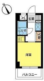 スカイコート鶴見第64階Fの間取り画像