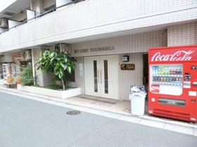 スカイコート戸越銀座エントランス
