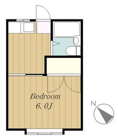 アークハイツ2階Fの間取り画像