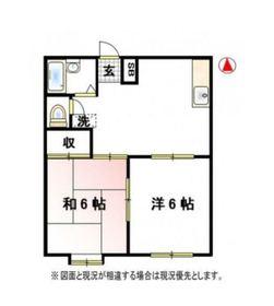 下永谷駅 徒歩36分1階Fの間取り画像