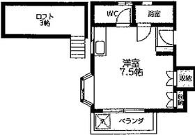 メゾン井田パート22階Fの間取り画像