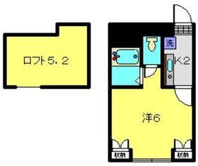 プリムール3階Fの間取り画像