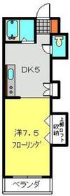 カームフラッツ1階Fの間取り画像