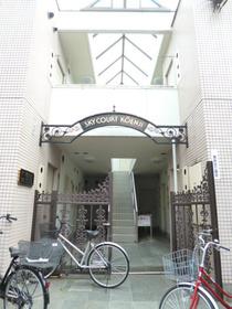 スカイコート高円寺エントランス