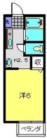 ベルグランデ2階Fの間取り画像