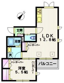 練馬春日町駅 車10分2.9キロ3階Fの間取り画像