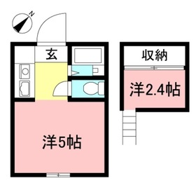 相武台前駅 徒歩6分1階Fの間取り画像