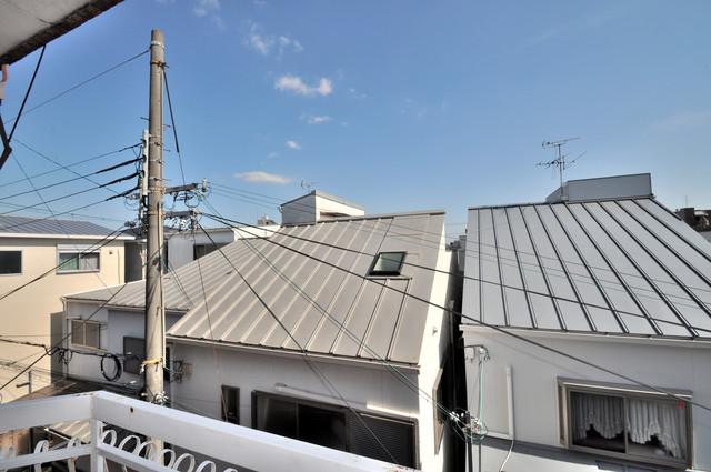 太平寺2丁目 連棟住宅 バルコニーからの眺めも良いです。