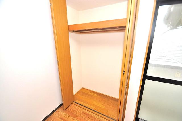 YMSマンション もちろん収納スペースも確保。いたれりつくせりのお部屋です。
