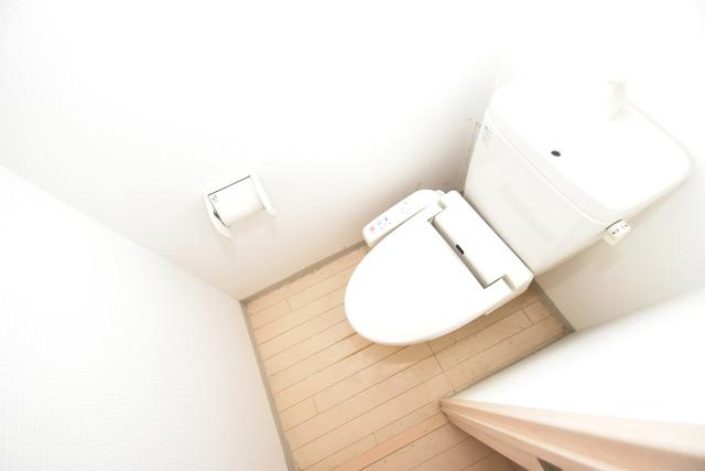 メゾン・ド・成屋大阪 清潔感たっぷりのトイレです。入るとホッとする、そんな空間。
