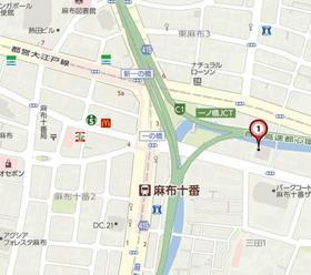 神谷町駅 徒歩17分案内図
