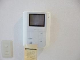 モニター付きインターフォン完備でセキュリティ安心です