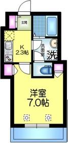 へーベルメゾン亀戸3階Fの間取り画像