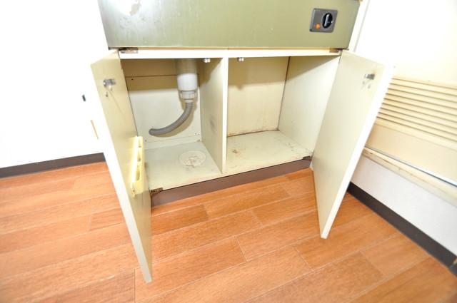 ブリリアント神路 コンパクトながら収納スペースもちゃんとありますよ。