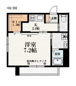 モンテベルデ2階Fの間取り画像
