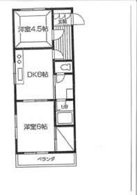 メゾンモナーク3階Fの間取り画像